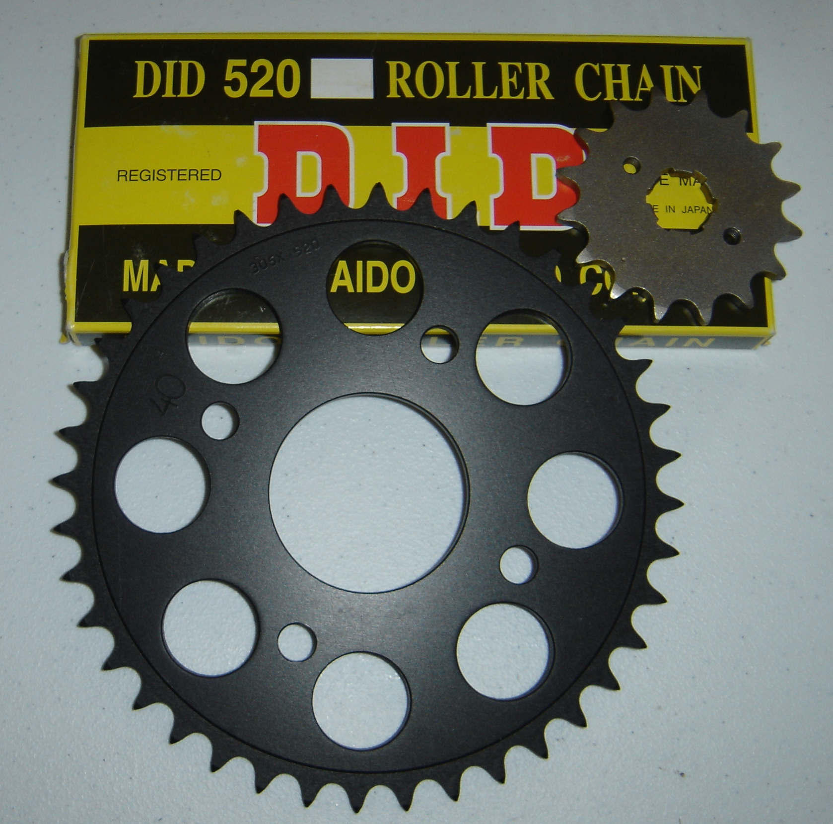 Yamaha Rd350 Parts Accessories Economy Cycle Oval Track Pro Tach Wiring 520 Chain Sprocket Conversion Kit For Rd250 350 400