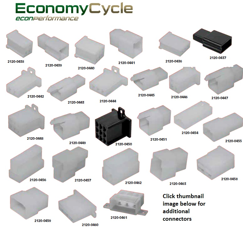 electrical connector blocks sold each economy cycle rh economycycle com motorcycle wiring block connectors Terminal Blocks and Strips