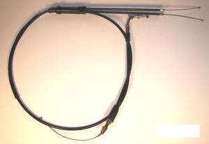 Yamaha RD400 Throttle Cable Assembly (1976-1978) - Reproduction cable. Includes upper