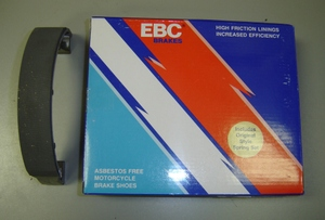 EBC High Performance Rear Brake Shoes for RD250/350/R5/DS7(all years)