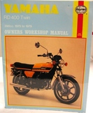 Haynes Yamaha RD400 2 Stroke Twins Manual - Comprehensive shop manual covers all aspects of service and repair including engine rebuild.