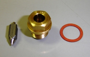 Genuine MikuniNeedle Valve Assembly for R5/DS6/DS7. Includes float needle
