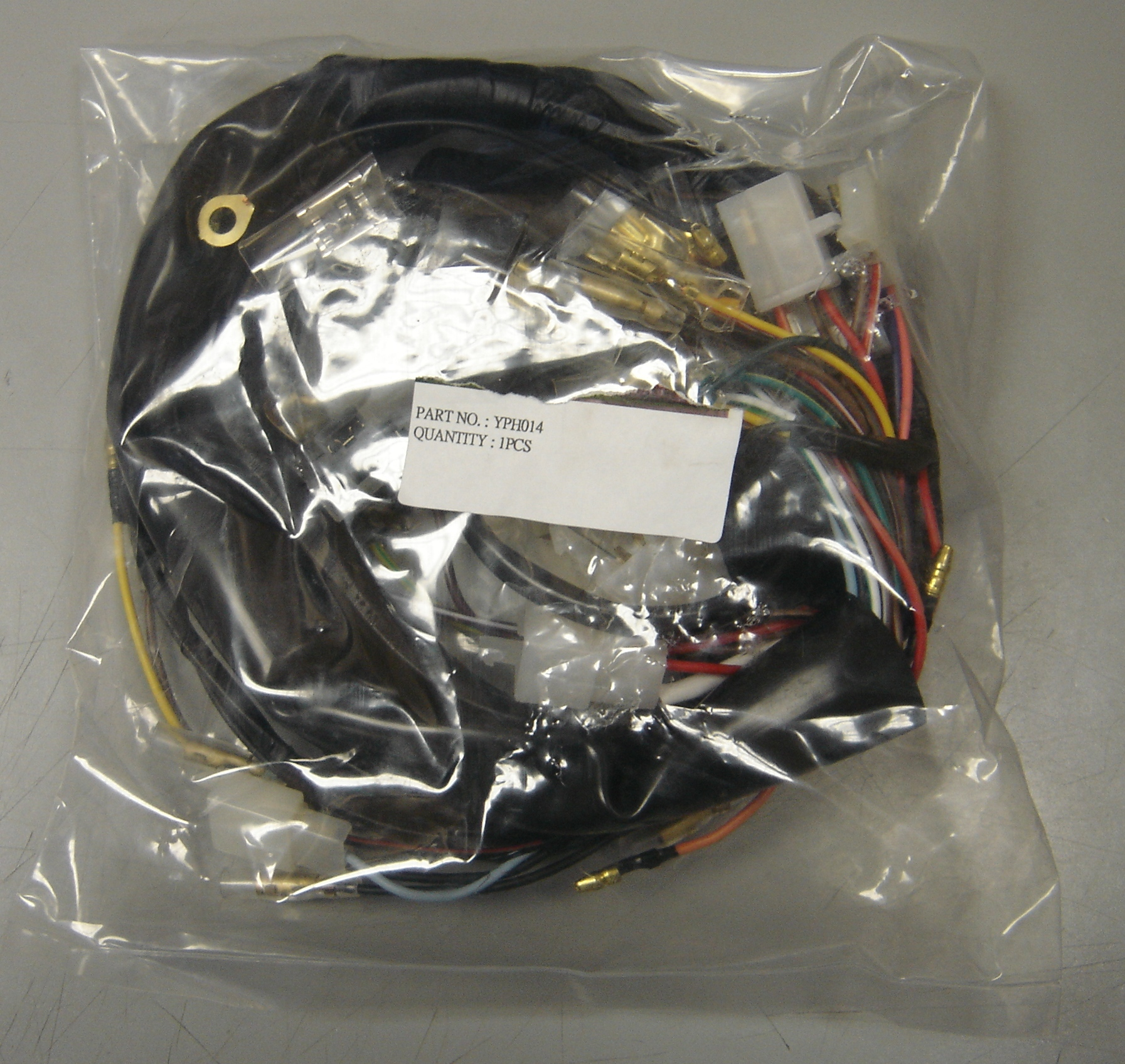 RD400 Harness yamaha rd400 wiring harness***out of stock*** economy cycle reproduction wiring harness at aneh.co
