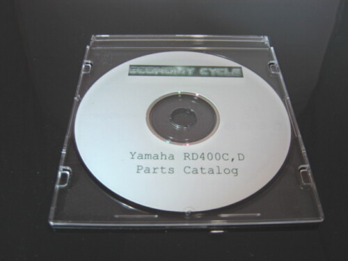 Yamaha RD400 Parts Catalog / Diagrams