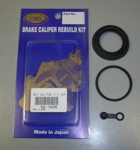 Brake Caliper Rebuild Kit - RD400F Daytona (Front / Rear). High quality seals from K&L. Each kit contains seals to rebuild one caliper.