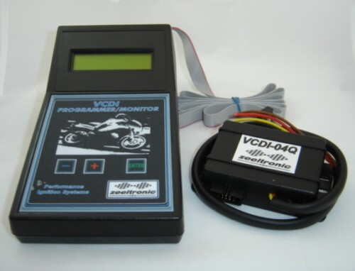 Programmable Ignition Controller and Handheld Programmer by Zeeltronic for Yamaha RD250/350/400