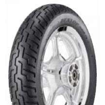 Dunlop D404H Metric Tire - Front 100/90H-18 for RD250/350/400. Tread compound delivers excellent balance of mileage and grip. Front and rear tread patterns designed to deliver outstanding water evacuation and wet grip. Bias-ply construction designed to deliver excellent load-carrying capacity as well as a smooth ride for maximum comfort. Offset center groove delivers excellent straight-line stability.