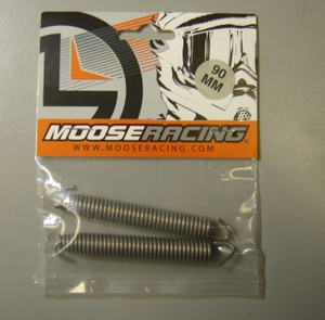 Exhaust springs by Moose Racing. Suitable for aftermarket exhaust / expansion chambers by