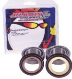 All Balls Steering Stem Bearings - fitment for the following Yamaha models  RD250/350/400/R5/RZ350/LC/TZ250/350. Note these are tapered roller bearings and are approximately 2mm taller than stock ball bearings but will work and fit the models noted. Tapered rolling bearings are stronger than the stock traditional ball bearings and provide more stable controlled steering.