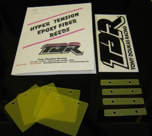 TDR Hyper Tension Reeds - Yamaha RZ350. By Tony Doukas Racing. The tuner and racer's choice in reed technology. Custom design by TDR to give maximum performance