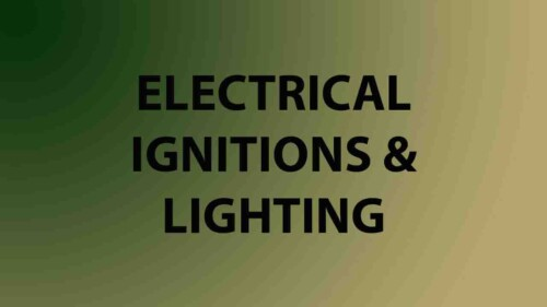 Electrical / Ignitions / Lighting