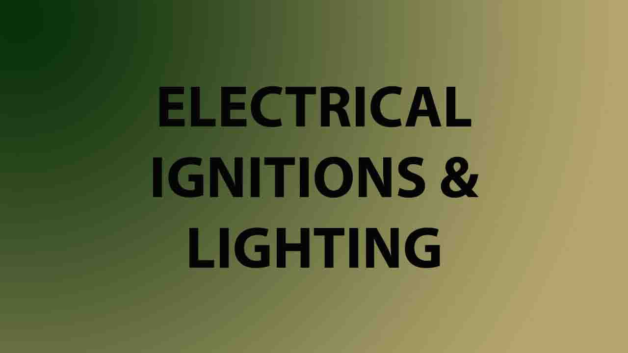 Electrical / Ignitions