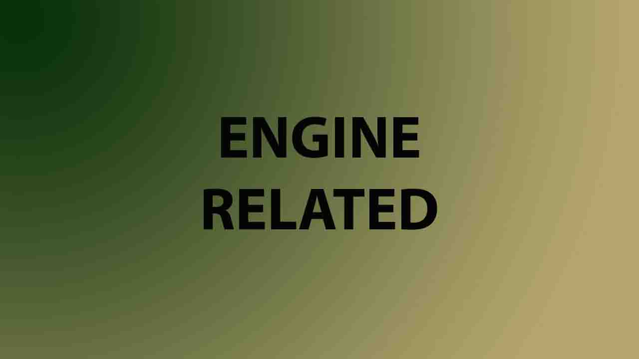 Engine Related