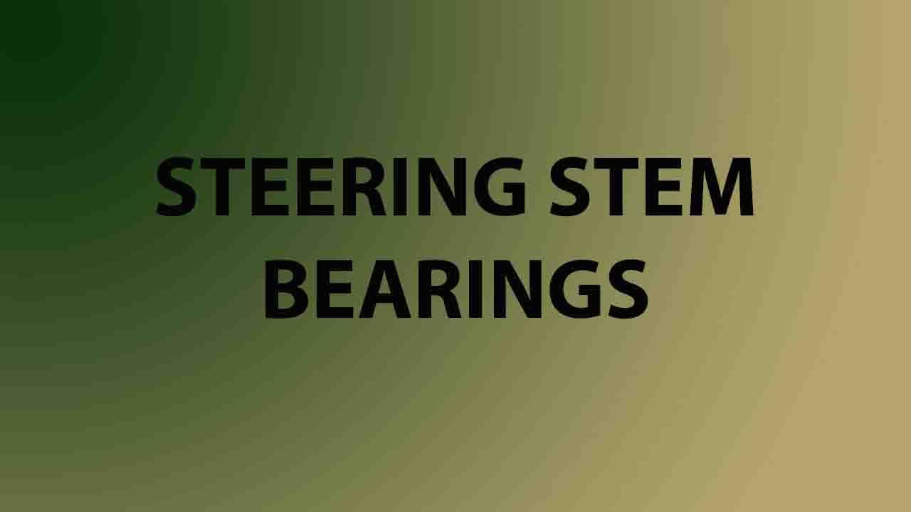 Steering Stem