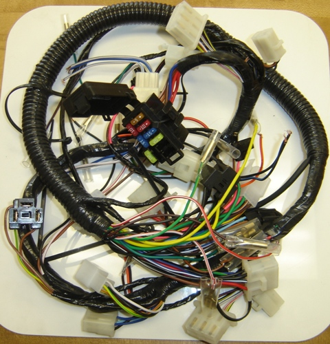 1984-1985 RZ350 (USA) Wiring Harness 48H-82590-50-00 Reproduction Harness