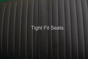 RD350 AB Seat Cover Detail