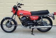 1975 Yamaha RD350 Complete Decal Set