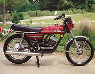 1974 Yamaha RD350 Complete Decal Set