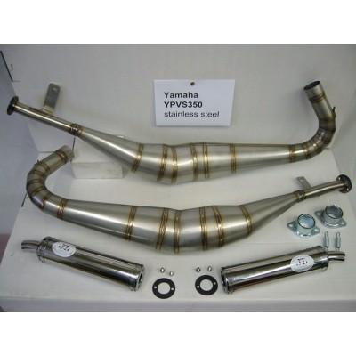 JL (Jim Lomas) Expansion Chambers – Yamaha RZ350 LCRD350YPVS - standard exit